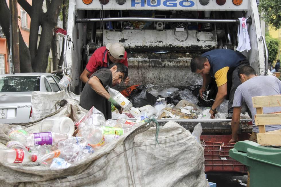 Resultado de imagen para recolectores de basura mexico