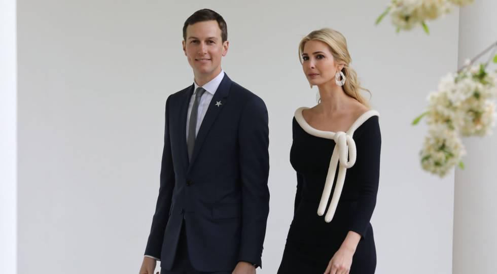 Jared Kushner e Ivanka Trump, en abril en la Casa Blanca