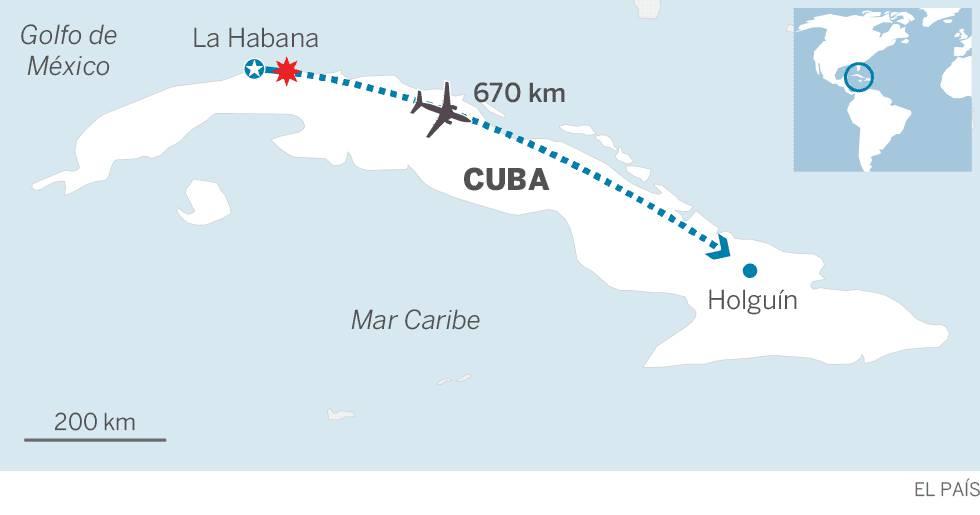 Al menos 100 muertos en Cuba al estrellarse un avión nada más despegar