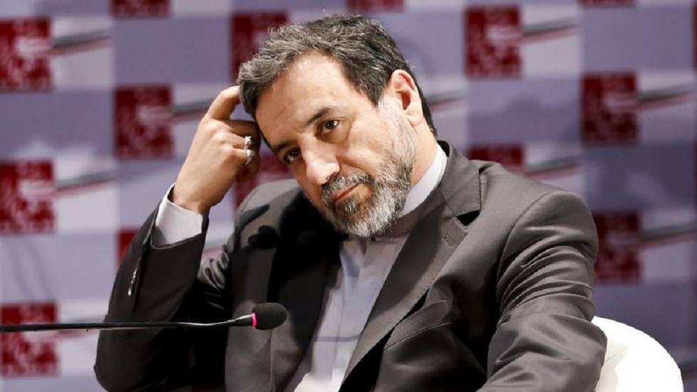 El viceministro de Exteriores de Irán, Abbas Araghchi, en una conferencia en Teherán en 2015.
