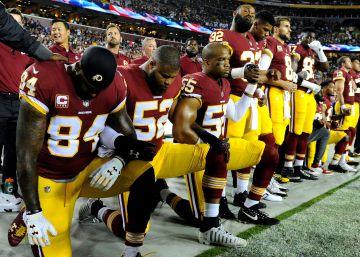 La liga de fútbol americano prohíbe que los jugadores se arrodillen durante  el himno nacional 059606113fe