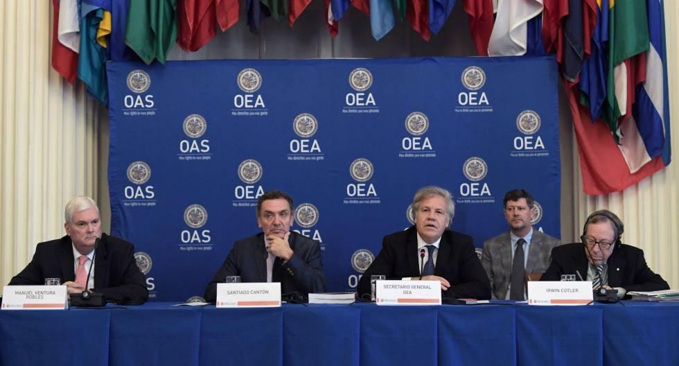 Resultado de imagen para OEA: Lesa humanidad contra Bolivia
