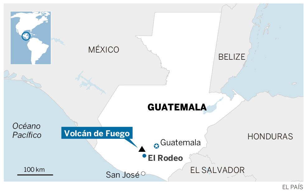 Erupção do vulcão Fogo na Guatemala deixa 33 mortos
