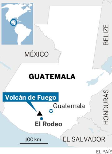 Al menos 69 muertos por la erupción del volcán de Fuego en Guatemala