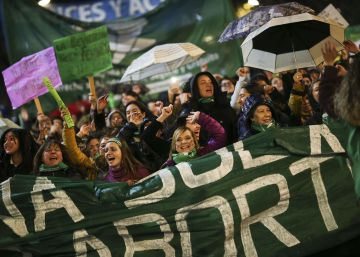 """Aborto legal no hospital"", o grito que parou as ruas de Buenos Aires"