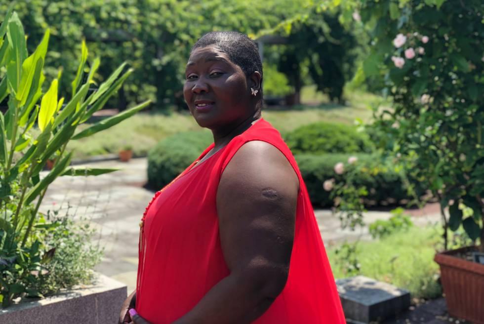 La malauí Fainess Lipenga en Maryland, Estados Unidos.
