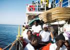 Los ministros del Interior de Roma, Berlín y Viena forjan un eje de mano dura contra la inmigración