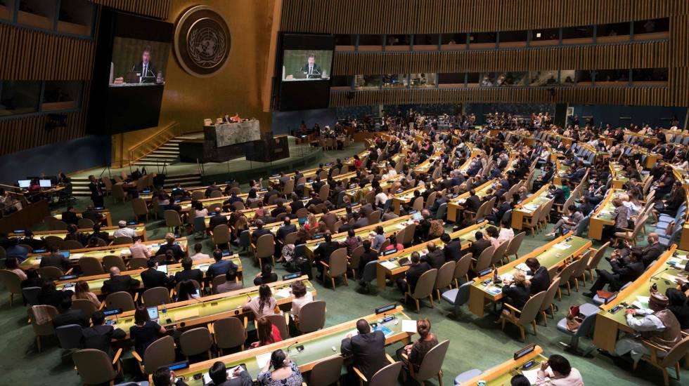 Plenario de la Asamblea General de las Naciones Unidas