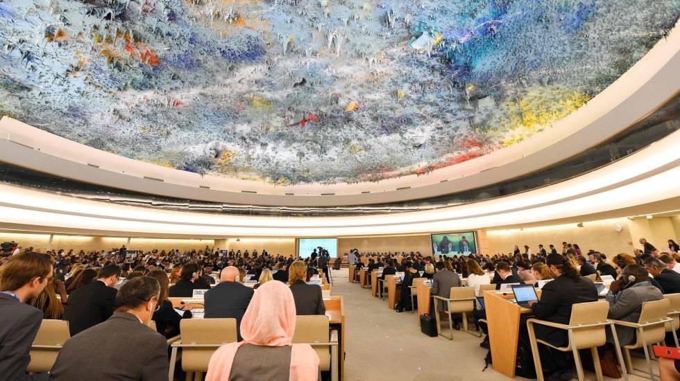 Plenario del Consejo de los Derechos Humanos en Ginebra