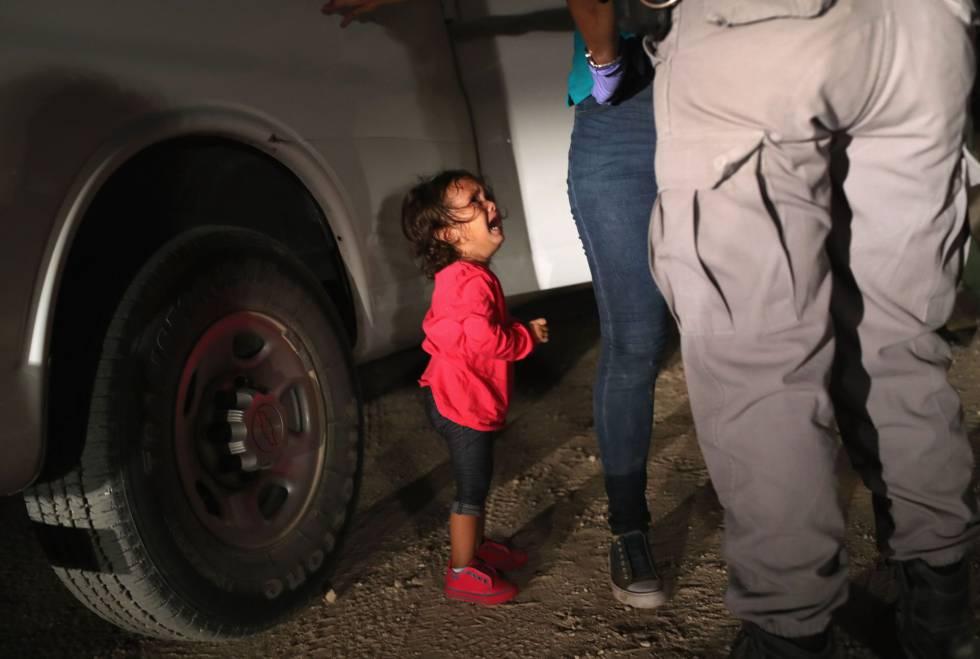 Resultado de imagem para imigrantes crianças separadas dos pais