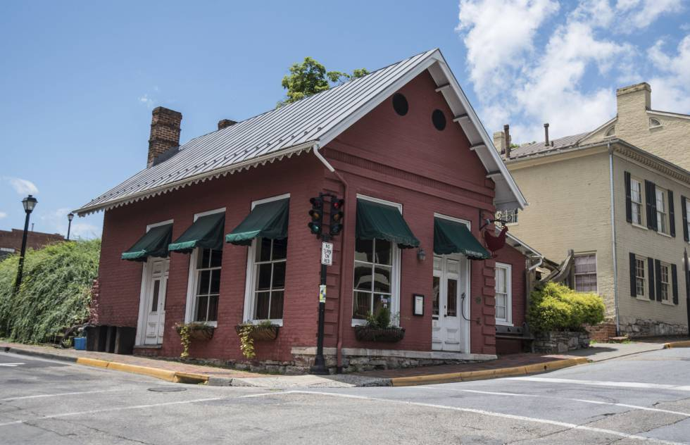El restaurante Red Hen, este sábado, en Lexington