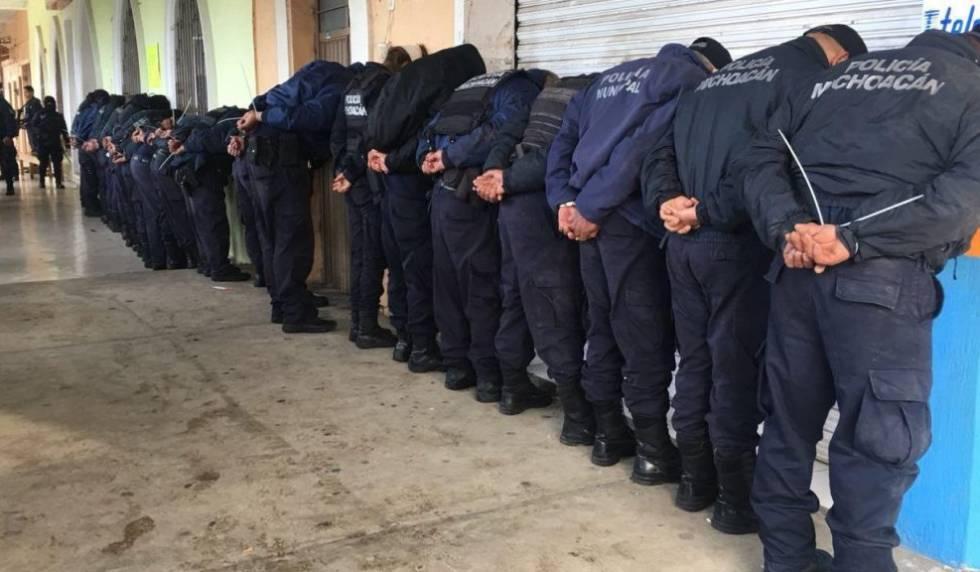 Resultado de imagen para Ocampo, en Michoacán México policia