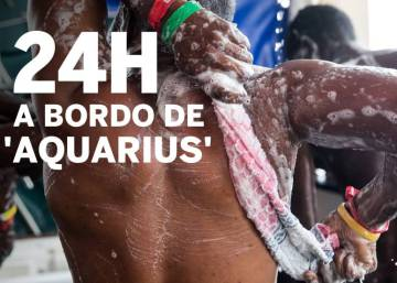 24 horas a bordo del 'Aquarius'