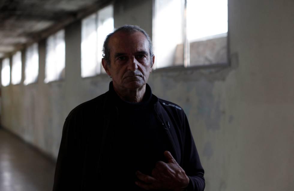Ricardo Coquet en la exEsma, donde estuvo detenido en 1978.
