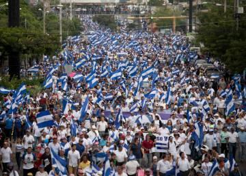 """El grito en las calles de Nicaragua: """"¡Que se vaya Ortega!"""""""