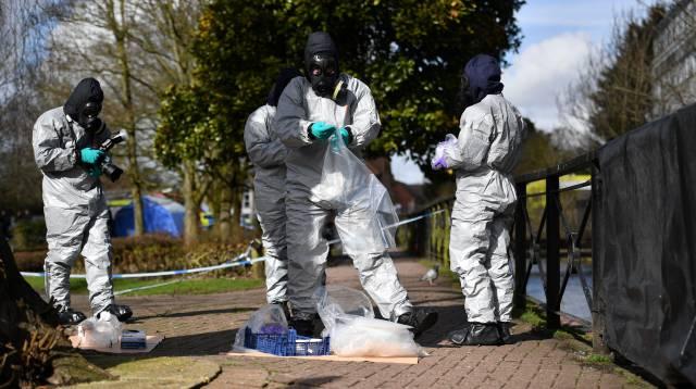 Investigación en Salisbury por el caso Skripal.