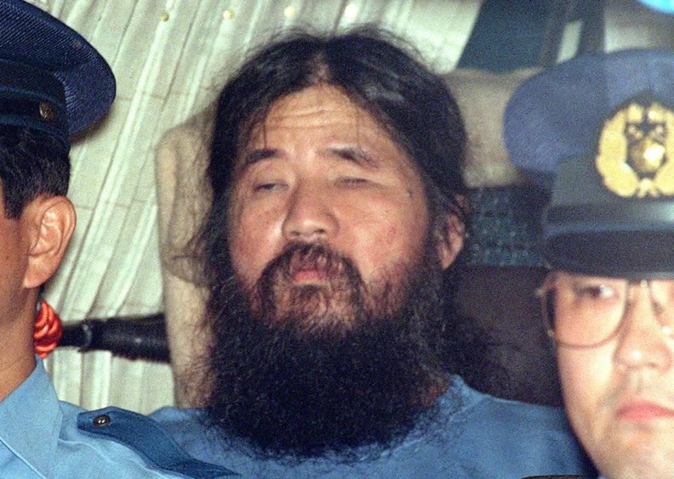 El ex líder de la secta Aum, Shoko Asahara, en 1995.
