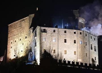 Arde el monasterio que inspiró 'El nombre de la rosa' de Umberto Eco