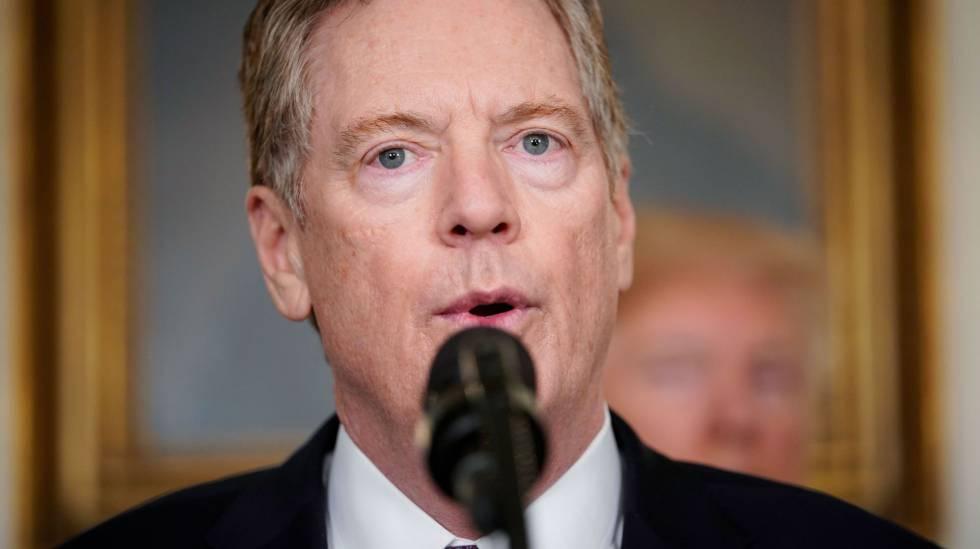 Robert Lighthizer, representante de Comercio Internacional de EE UU