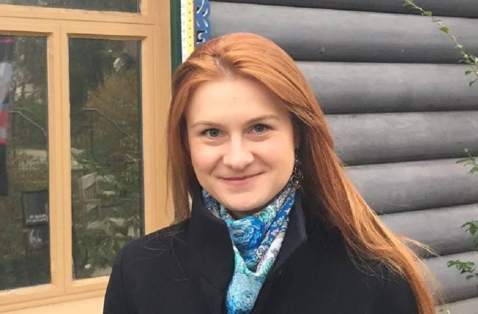 La ciudadana rusa de 29 años Maria Butina.