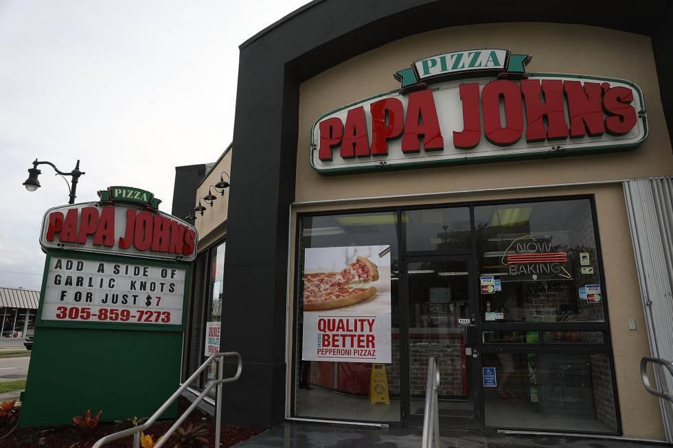 La cadena de pizzas Papa John's.