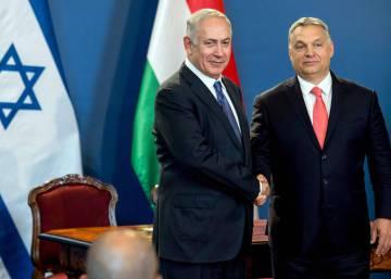"""Orbán admite ante Netanyahu el """"pecado"""" de Hungría durante el Holocausto"""