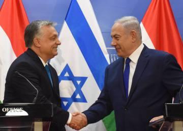 Netanyahu afianza su alianza con el nacionalismo europeo en la primera visita de Orbán a Israel
