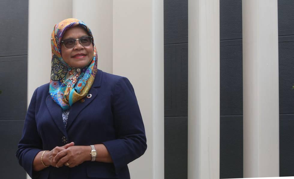 Maimunah Mohd Sharif, directora ejecutiva de ONU-Habitat, en junio en Madrid.
