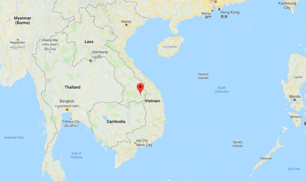 La provincia de Attapeu, en Laos.