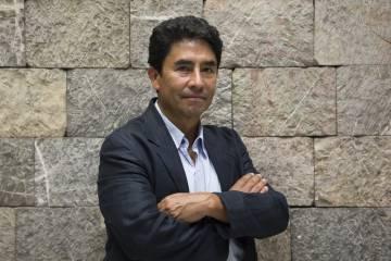 El arqueólogo Sergio Gómez, investigador del INAH.