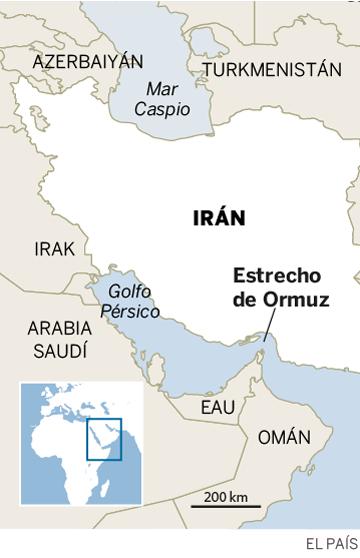 Las cartas de Irán para jugar en el tablero de Ormuz