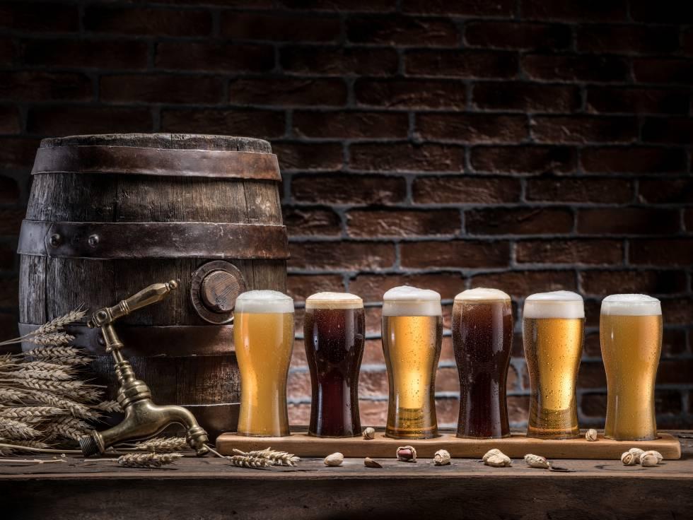 Cata de cervezas artesanas.