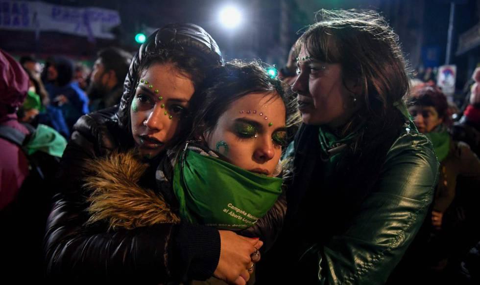 Resultado de imagen para argentina debate senado aborto