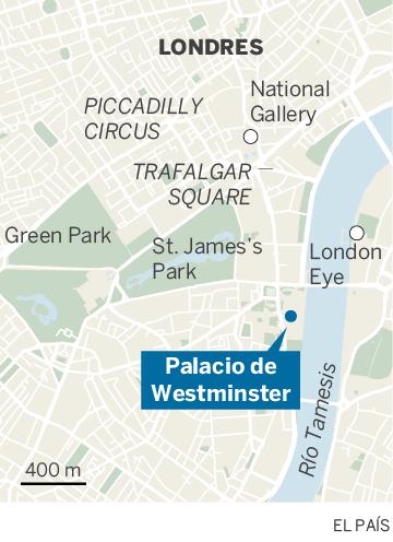 Detenido en Londres bajo sospecha de terrorismo un conductor tras chocar contra las barreras del Parlamento