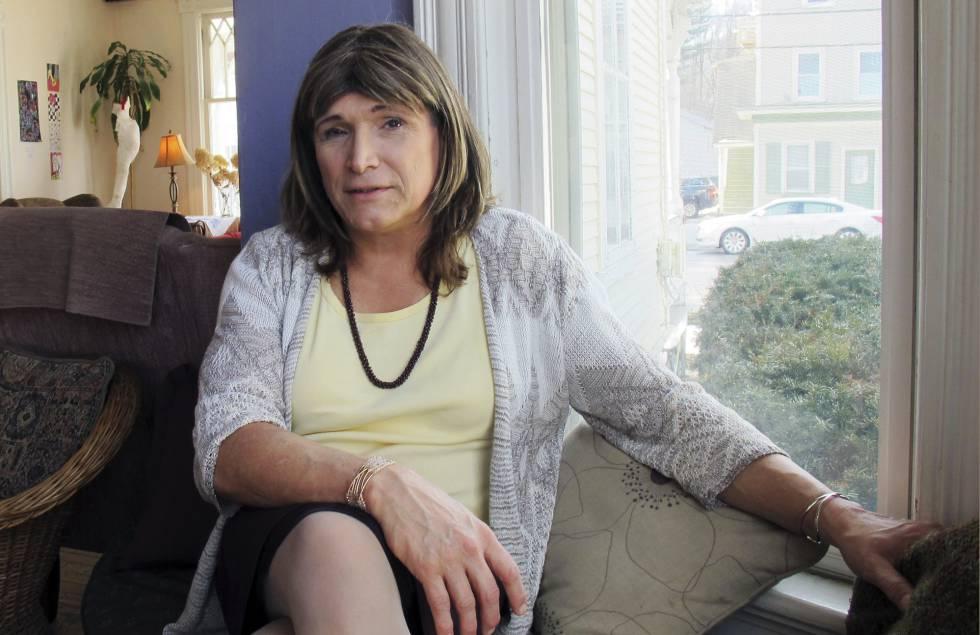 Christine Hallquist, en una entrevista el pasado febrero