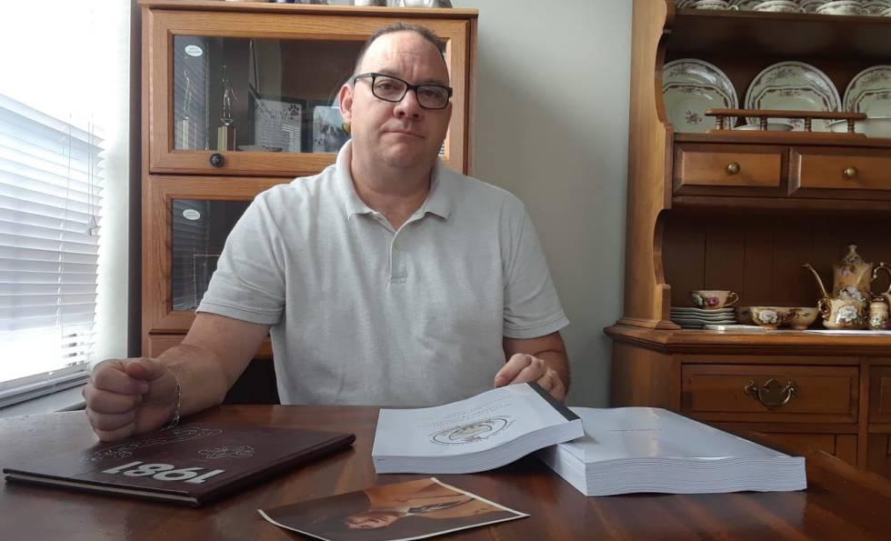 Jim Vansickle, em sua casa de Coraopolis (Pensilvânia), na sexta-feira.