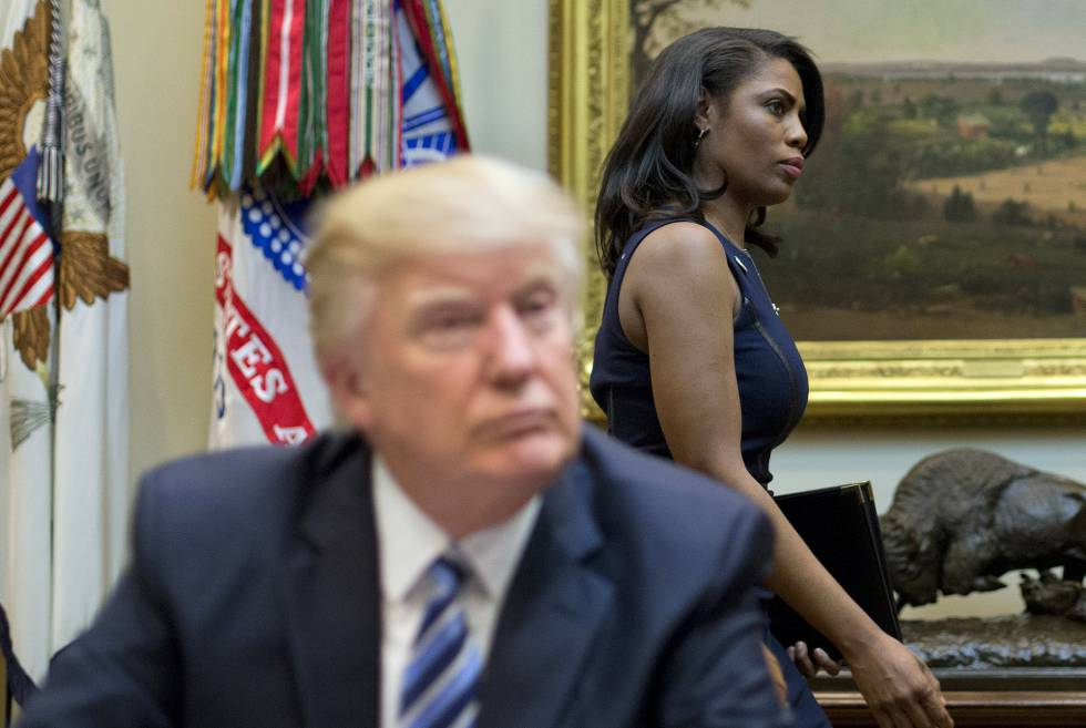 Trump y Newman, en marzo de 2017 en un acto en la Casa Blanca