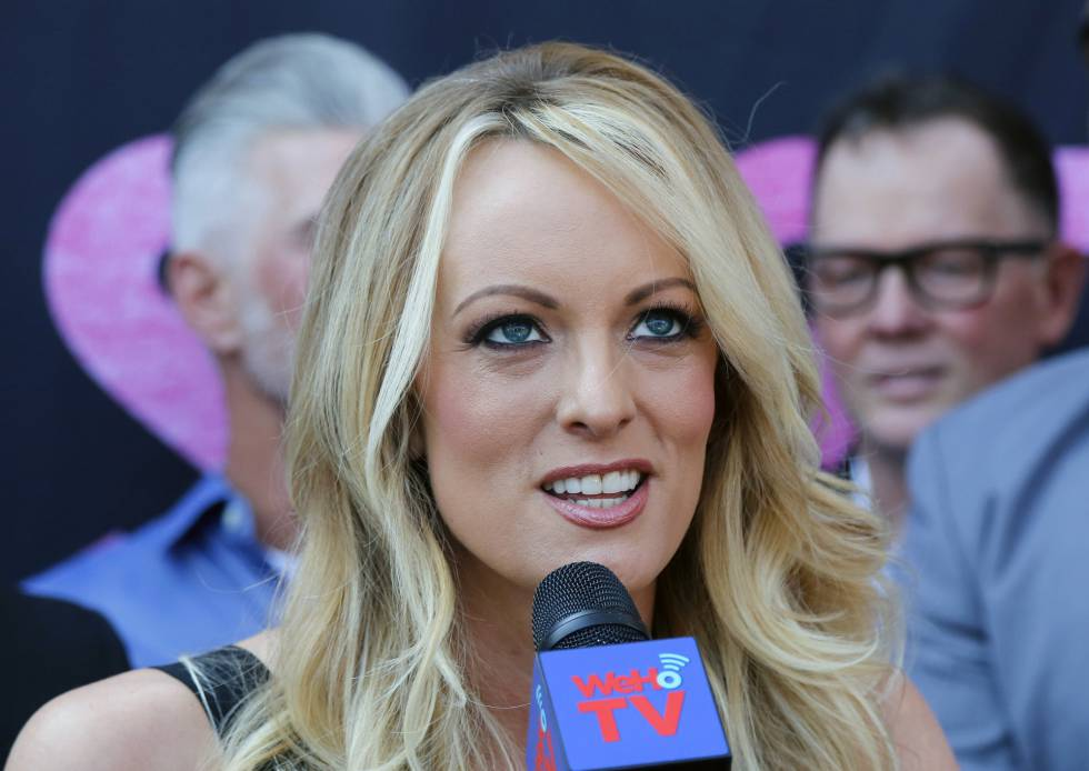 Stormy Daniels, el pasado mayo en West Hollywood, California.