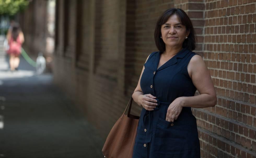 Sandra Araujo dejó Venezuela a finales de 2014. Ahora ha cambiado Miami por el barrio de Salamanca en Madrid.