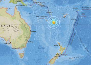 Un terremoto de 7,1 en el Pacífico levanta un 'minitsunami' sin causar daños