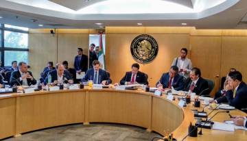The Political Coordination Board, without the presence of women.