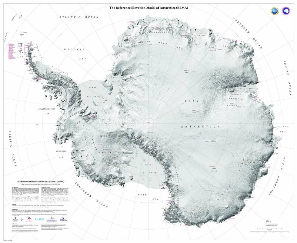 Y El Mejor Mapa Topografico De Alta Resolucion Del Planeta Es Para