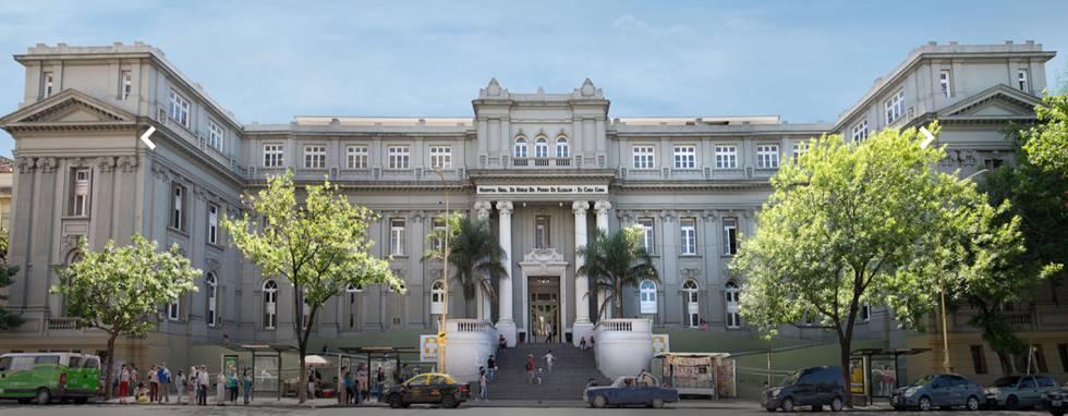 Hospital de niños Pedro de Elizalde.