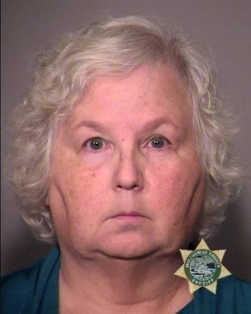Nancy Crampton-Brophy, retratada por la policía de Portland.