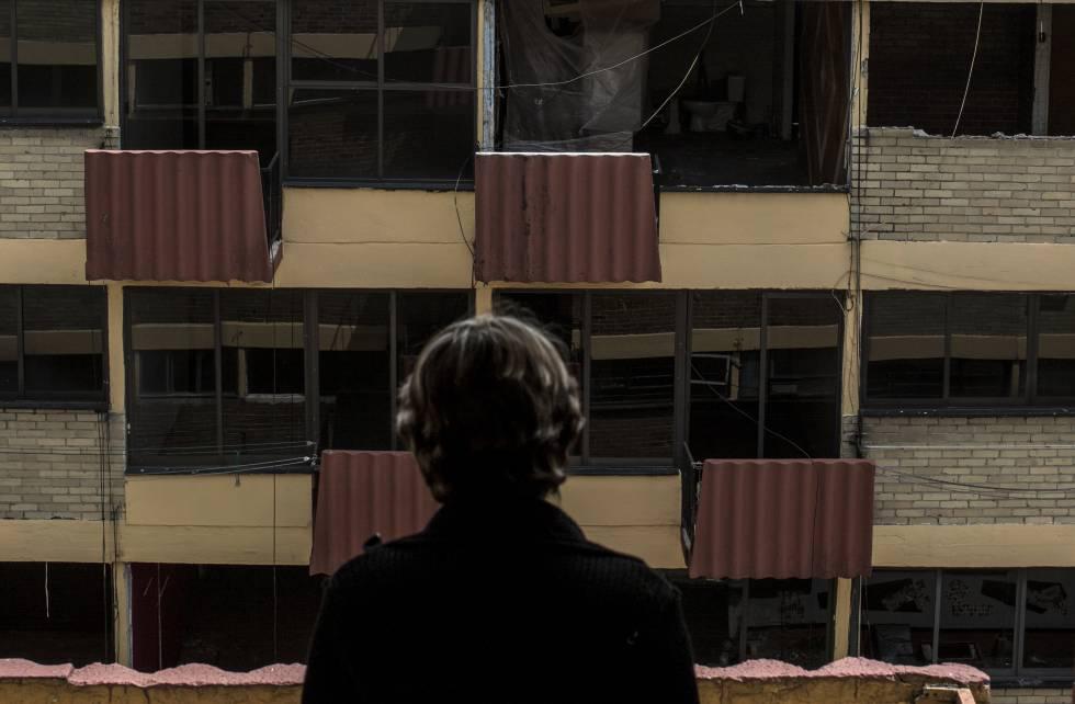 A un año del sismo, la vida en casas de cartón y tiendas de campaña ...