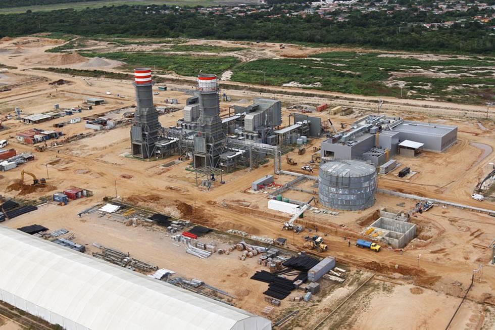 Planta termoeléctrica Juan Manuel Valdez en Güiria (Venezuela).