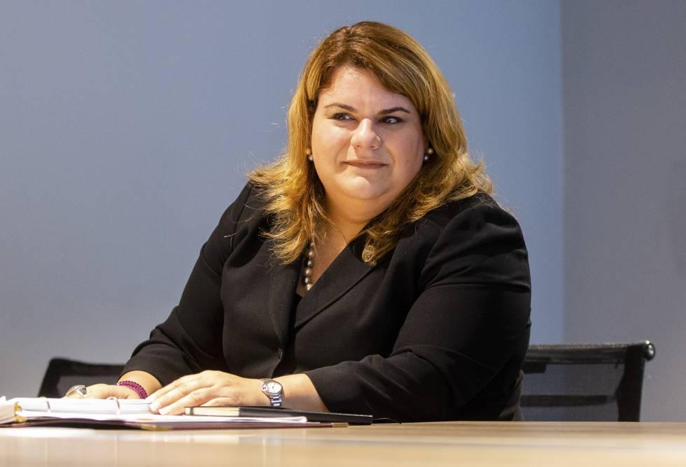 Jenniffer González Colón, comisionada residente de Puerto Rico en la Cámara de Representantes de los Estados Unidos, este martes.