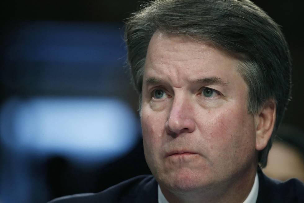 El juez Brett Kavanaugh, candidato de Trump para el Supremo.