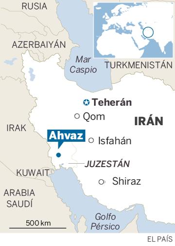 Mueren 25 personas, incluidos 12 militares, en un atentado en Irán
