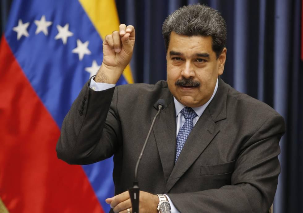 Maduro en una conferencia de prensa, el martes.